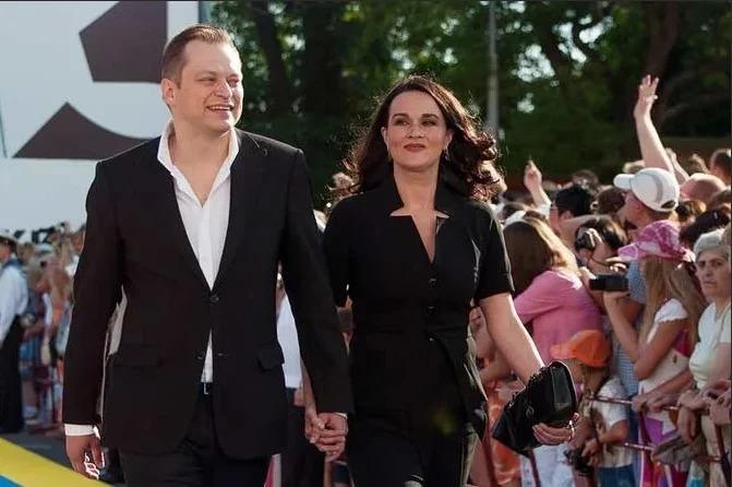 Анатолий Кот с женой Яниной