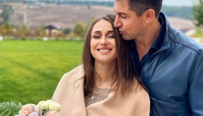 Андрей Джеджула с женой Юлией