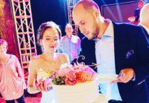 Син головною свахи Росії Гузеевой Георгій Толордав і Анна на весіллі
