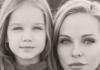 Даша Трегубова с дочкой Полиной
