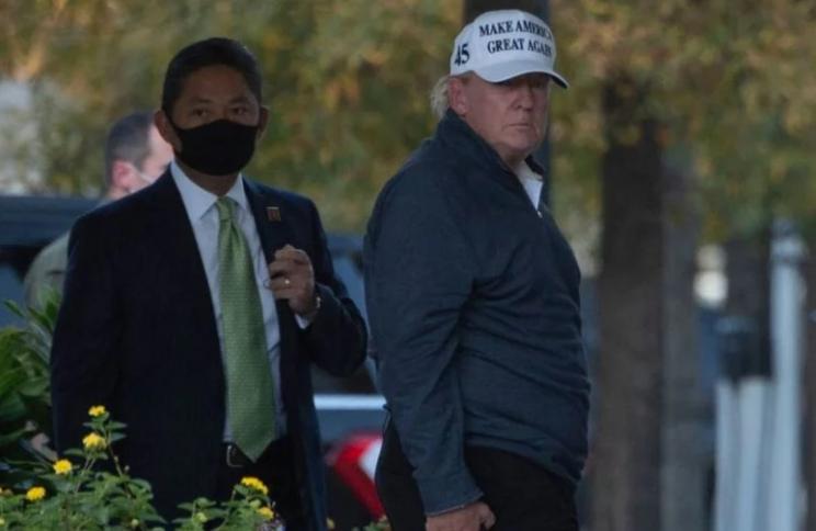 Дональд Трамп очень мрачен