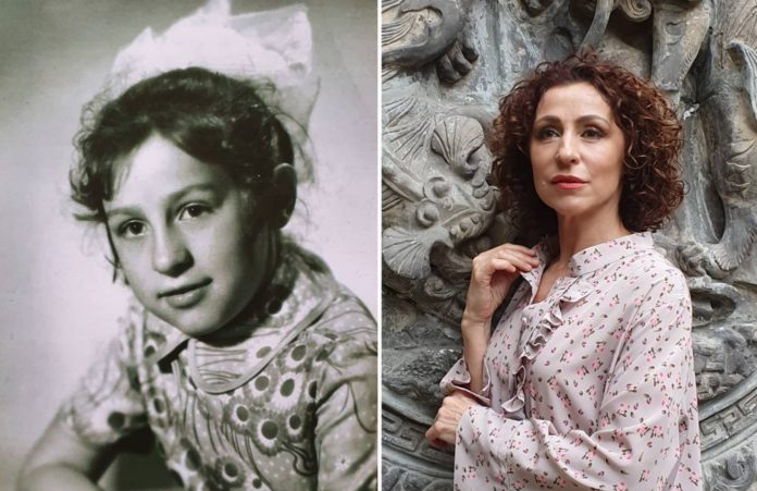 Як телеведуча Надія Матвєєва виглядала і жила в дитинстві?