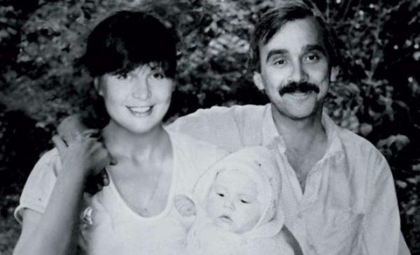 Тетяна Кравченко з другим чоловіком і донькою