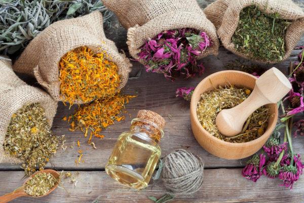 Травы и масла от стреса
