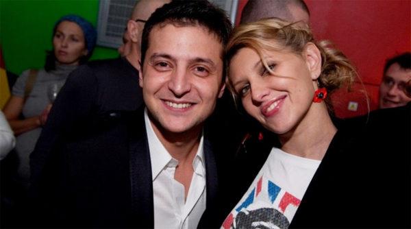 Олена Зеленська з чоловіком