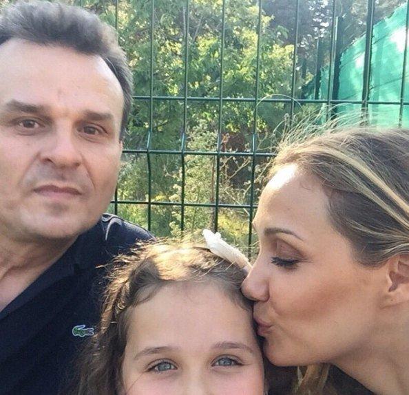 Євгенія Власова з Дмитром Костюком і донькою Ніною