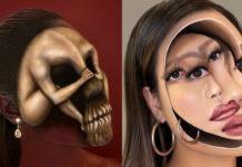 Дівчина створює реалістичні ілюзії на тілі