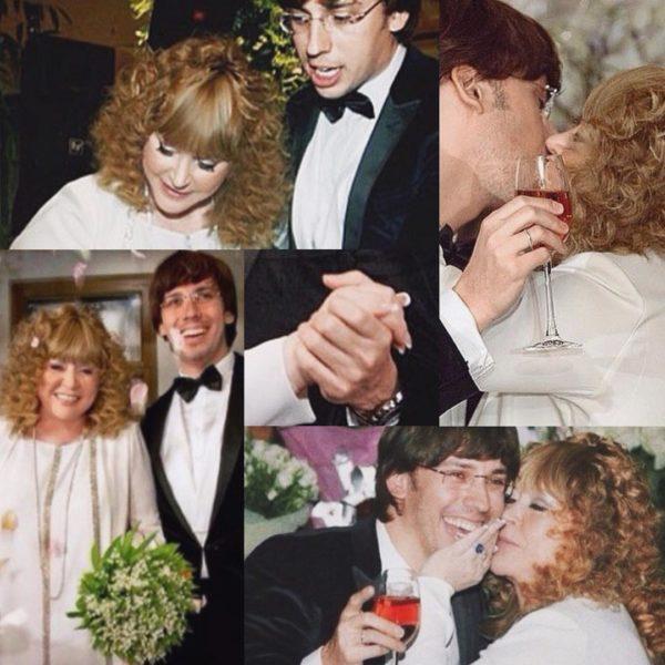Фото со свадьбы Аллы пугачевой и Максима Галкина