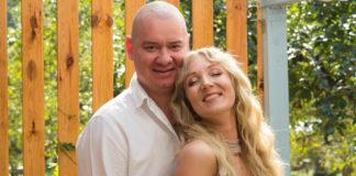 Євген Кошовий з дружиною Ксенією