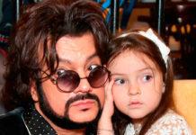 Філіп Кіркоров з донькою Аллою-Вікторією