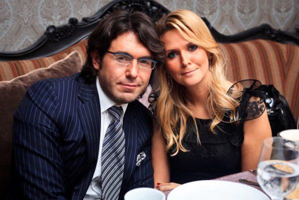 Андрей Малахов и его жена Наталья Шкулева
