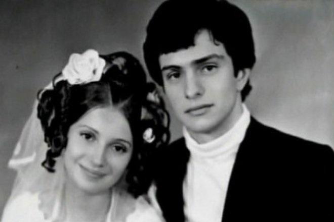 Свадебное фото Юлии Тимошенко