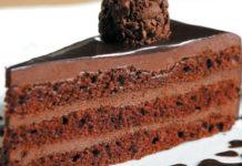 Святковий шоколадний торт