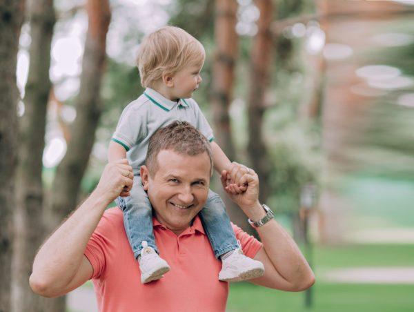 Юрий Горбунов с сыном Ваней