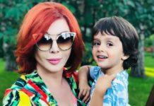 Ірина Білик з молодшим сином