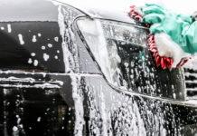 Як помити машину взимку
