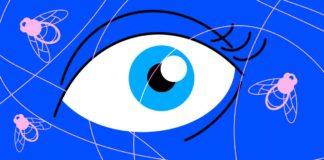 Чому з'являються мушки перед очима