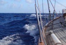 Шторм на яхті - рідкісні кадри гостей одного круїзного лайнера