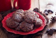 Домашнее шоколадное печенье - настоящее объедение