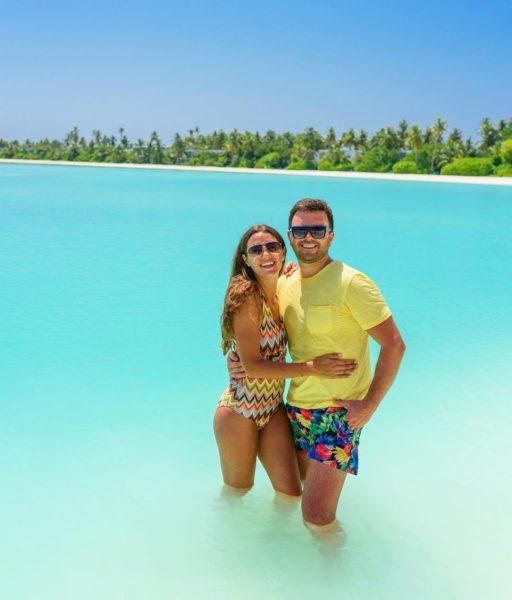 Христина і Григорій Решетник на курорті