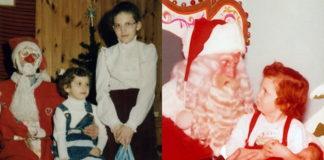 Смешные новогодние фото с Санта-Клаусом