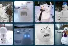 креативні сніговики