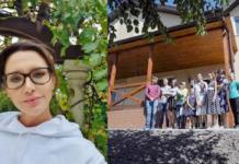 Оксана Марченко і сім'я Бусько
