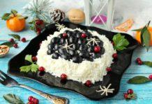 """Рецепт восхитительного салата """"Первый снег"""" - ваши гости будут в восторге"""