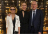 Катя Осадчая с родителями