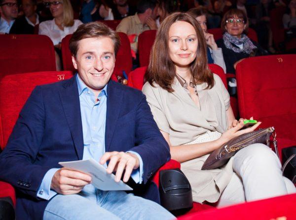 Сергей Безруков с первой женой Ириной