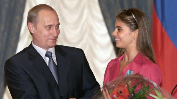 Аліна Кабаєва і Володимир Путін