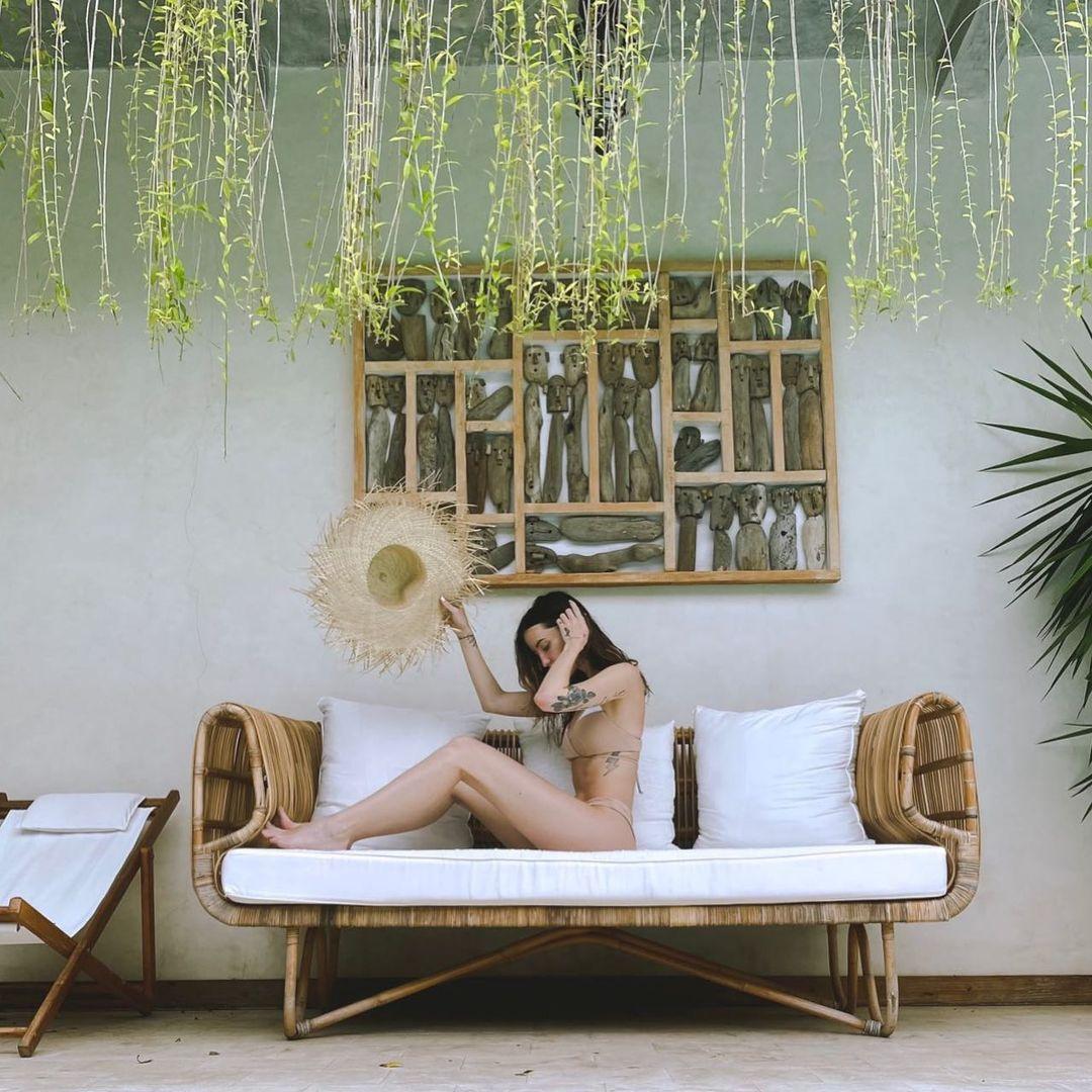 Надя Дорофеева на Бали