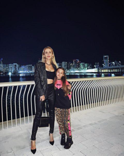 Світлана Лобода з дочкою