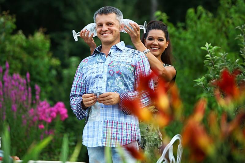 Руслана Лыжичко и ее муж Александр Ксенофонтов
