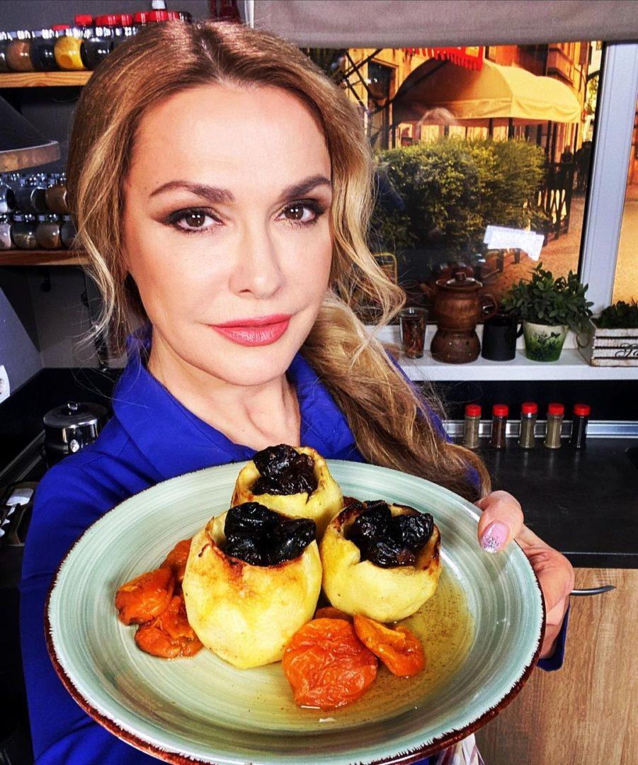 Ольга Сумская со своим десертом