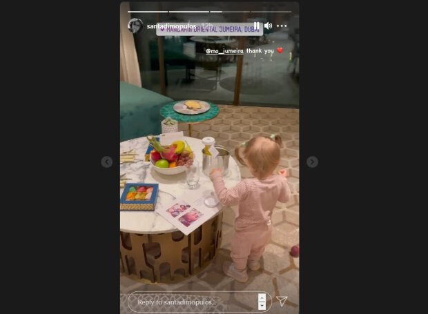 Маленька дочка Санты Димопулос