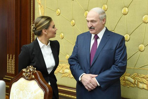 Аліна Кабаєва і Лукашенко