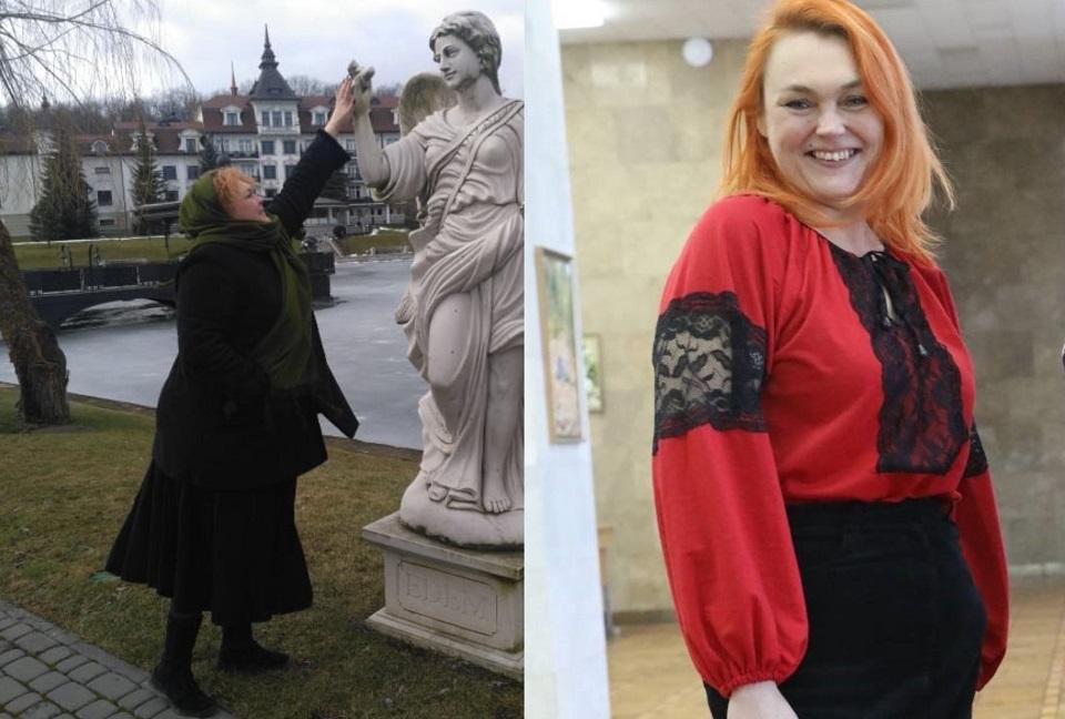 До і після схуднення