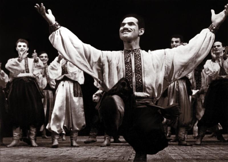 Григорий Чапкис с ансамбле Вирского