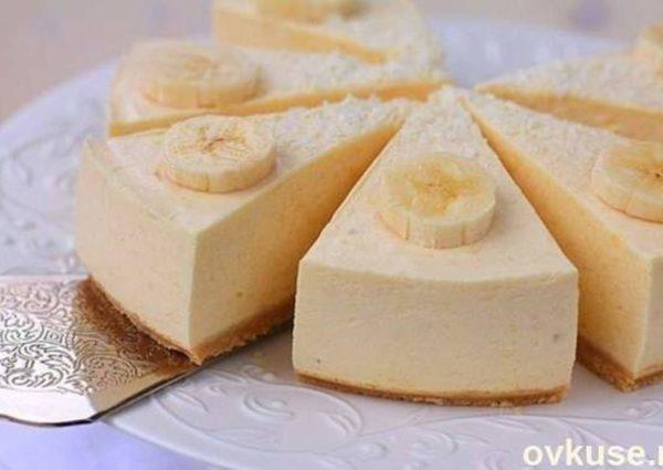 банановий чізкейк