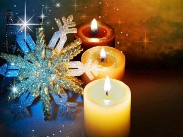 Гадание на Рождество на бумаге