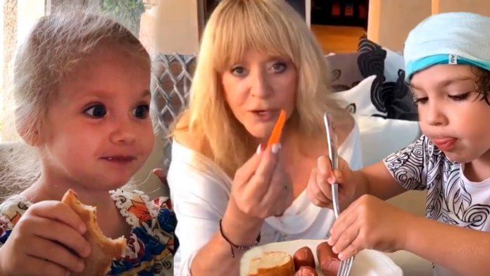 Що їдять діти Пугачової і Галкіна