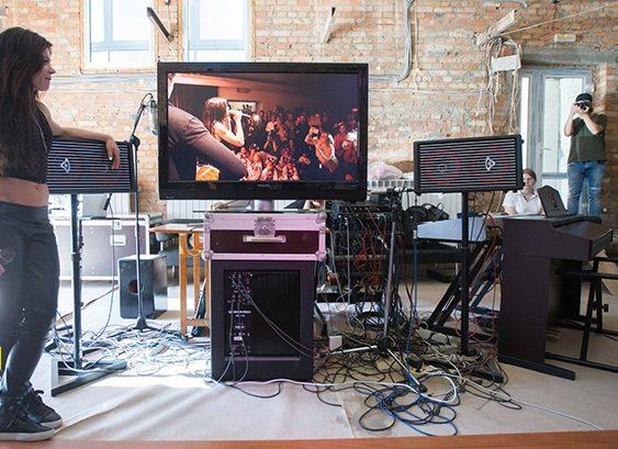 Музыкальная студия полностью звукоизолирована