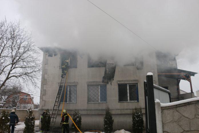 Пожежа в Харкові 21 січня