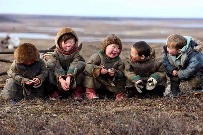 Дети-чукчи