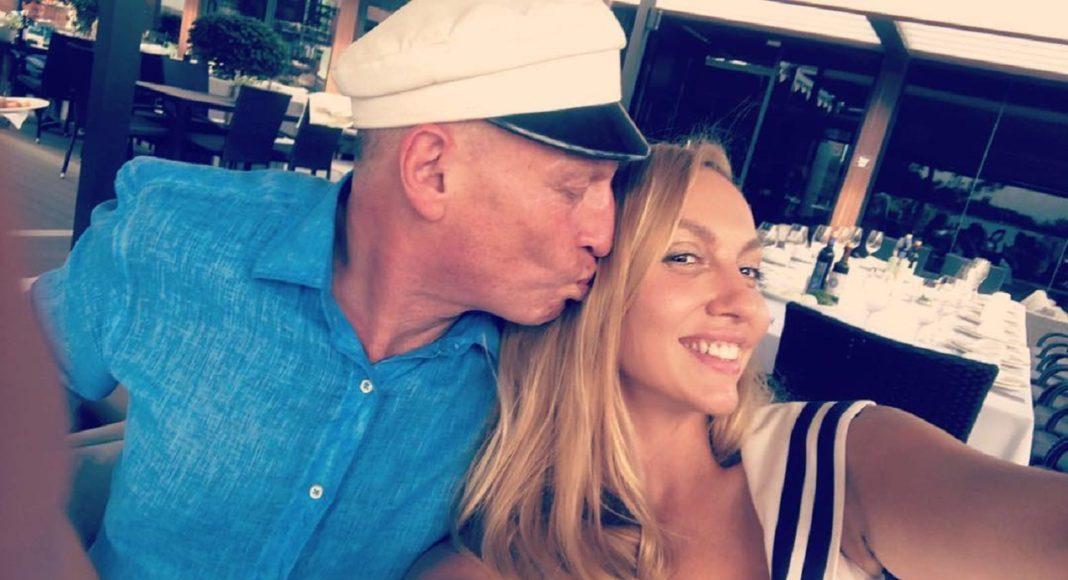 Оля Полякова и ее муж Вадим