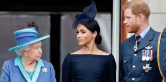 Королева Єлизавета II, Меган Маркл і принц Гаррі