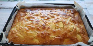 Яблучний пиріг за 5 хвилин