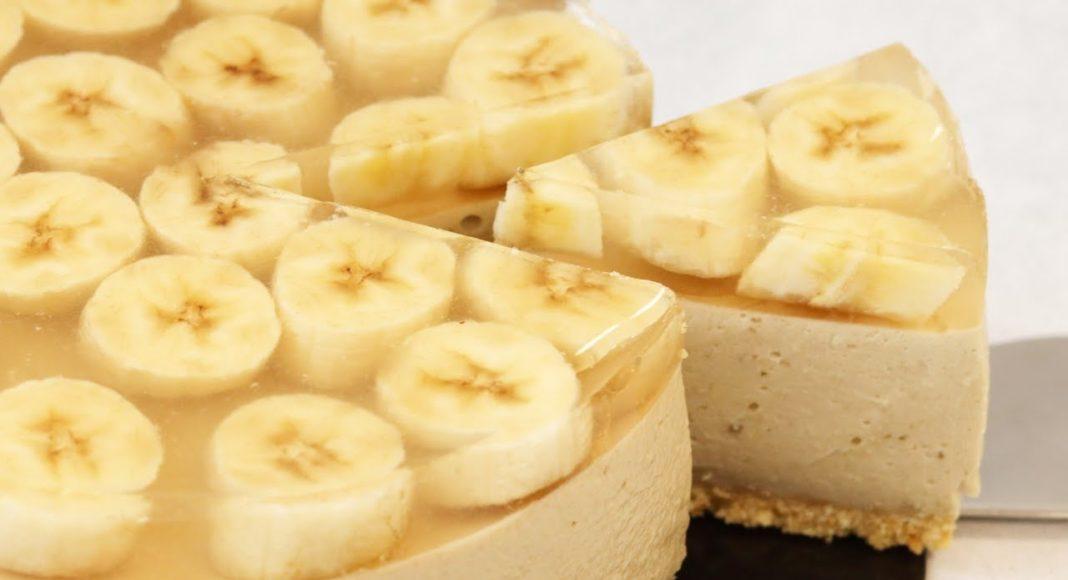 Банановый чизкейк - пальчики оближешь