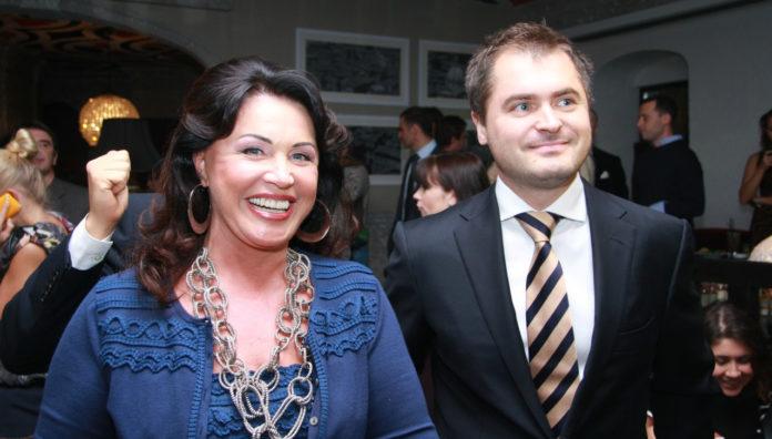 Надія Бабкіна та Євген Гор